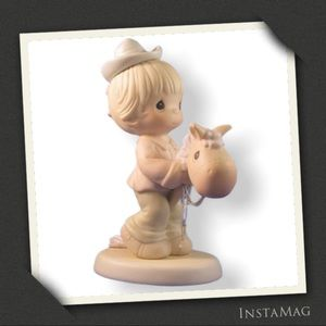 'HOPE YOU'RE UP AND ON THE TRAIL AGAIN' Figurine